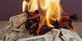 bruciare soldi in condominio